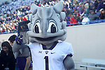 December 30, 2016: The TCU mascot in the second half of the AutoZone Liberty Bowl at Liberty Bowl Memorial Stadium in Memphis, Tennessee. ©Justin Manning/Eclipse Sportswire/Cal Sport Media