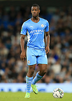 21st September 2021; Etihad Stadium,Manchester, England; EFL Cup Football Manchester City versus Wycombe Wanderers; Mbete of Manchester City