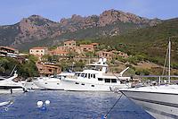 - Corsica, castle in the Girolata Bay, UNESCO Human Heritage site<br /> <br /> - Corsica, castello nella baia di Girolata, patrimonio mondiale dell'Umanità