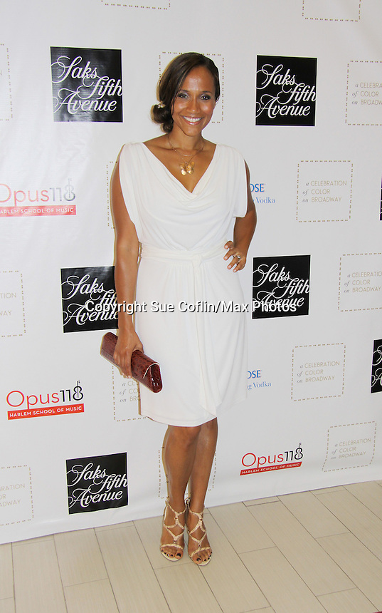 Guiding Light Yvonna Wright attends the Innaugural Celebration of Color on Broadway Awards were held on June 8, 2011 at SAKS Fifth Avenue, New York City, New York. The event was held upstairs where beautiful shoes are sold and where a part of the sales this night will benefit OPUS 118 Harlem's School of Music. (Photo by Sue Coflin/Max Photos)