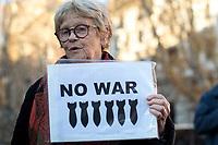 10.01.2020 - Demonstration Against War in Rome