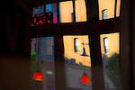 Port Townsend, Alchemy Bistro, Wine Bar, Washington Street, Port Townsend Historic District, Olympic Peninsula, Washington State, Pacific Northwest, restaurants, window reflections,