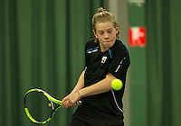Rotterdam, The Netherlands, March 18, 2016,  TV Victoria, NOJK 14/18 years, Fons van Sambeek (NED)<br /> Photo: Tennisimages/Henk Koster
