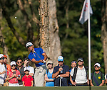 Rafael Cabrera Bello of Spain plays an approach shot during the 58th UBS Hong Kong Golf Open as part of the European Tour on 10 December 2016, at the Hong Kong Golf Club, Fanling, Hong Kong, China. Photo by Marcio Rodrigo Machado / Power Sport Images