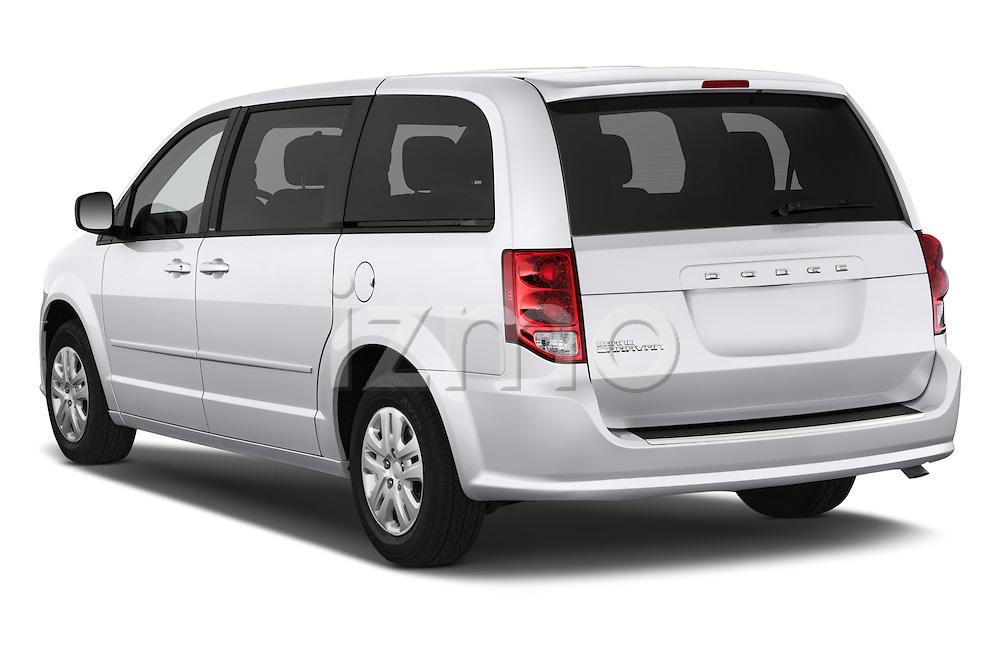 Car pictures of rear three quarter view of 2018 Dodge Grand-Caravan SE 5 Door Minivan Angular Rear