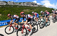 8th July 2021; Nimes, France; VAN MOER Brent (BEL) of LOTTO SOUDAL, SWEENY Harrison (AUS) of LOTTO SOUDAL during stage 12 of the 108th edition of the 2021 Tour de France cycling race, a stage of 159,4 kms between Saint-Paul-Trois-Chateaux and Nimes.
