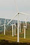 Windy Point Wind Farm in Goldendale, Washington