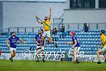Jordan Brick, Kilmoyley, catches a ball during the County Senior hurling Semi-Final between Kilmoyley and Lixnaw at Austin Stack park on Saturday evening.