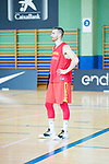 Victor Claver during the training of Spanish National Team of Basketball. August 06, 2019. (ALTERPHOTOS/Francis González)