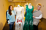 The Kerry County Museum display the Gowns of Glory of the winning Rose's of Tralee at the museum on Monday. L to r: Jemma O'Connell and Hazel Ramsey