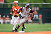 Alleman, David 0498.jpg.  Big 12 Baseball game with Texas A&M Aggies at Texas Lonhorns  at UFCU Disch Falk Field on May 9th 2009 in Austin, Texas. Photo by Andrew Woolley.