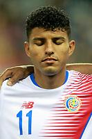 Costa Rica's Johan Venegas during international friendly match. November 11,2017.(ALTERPHOTOS/Acero)