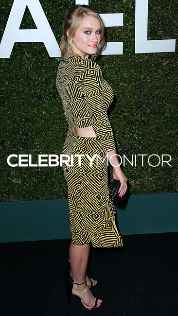 BEVERLY HILLS, CA, USA - OCTOBER 02: Leven Rambin arrives at Michael Kors Launch Of Claiborne Swanson Franks's 'Young Hollywood' Book held at a Private Residence on October 2, 2014 in Beverly Hills, California, United States. (Photo by Xavier Collin/Celebrity Monitor)