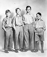 BNPS.co.uk (01202 558833)<br /> Pic: SusanBond/BNPS<br /> <br /> Susan Bond's father and his brothers - two of the brothers were killed during the war.<br /> <br /> Military museum in hot water over missing medals..<br /> <br /> A woman whose father and grandfather donated their highly-valuable gallantry medals to an army museum is furious they have disappeared having been suspiciously substituted for duplicates.<br /> <br /> Susan Bond, whose husband Richard is a retired crown court judge, discovered the two Military Cross groups at the The Royal Green Jackets Museum are not the ones bequeathed to them after one set appeared on the open market.<br /> <br /> Mrs Bond confronted the trustees at the museum, whose former Colonel-in-Chief was the Queen, but the 70-year-old has been left dismayed at their 'indifferent' response at the loss which they have been unable to properly explain.<br /> <br /> The owners - the museum based in Winchester, Hants - said they were satisfied that no criminal activity had taken place and the police investigation came to nothing.