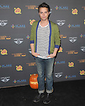 Thomas Dekker  at 3rd Annual Los Angeles Haunted Hayride held at Griffith Park, Old Zoo in Los Angeles, California on October 09,2011                                                                               © 2011 Hollywood Press Agency
