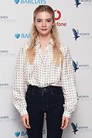 Freya Allan<br /> arriving for the Women of the Year Awards 2019, London<br /> <br /> ©Ash Knotek  D3526 14/10/2019