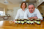 Husband & wife duo Richie & Jackie Green from Dun Geagan in Ballinskelligs who are producing and supplying their homemade jams around the county.