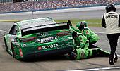 June 22, 2020:  #18: Kyle Busch, Joe Gibbs Racing, Toyota Camry Interstate Batteries  during the Geico 500 at Talladega Superspeedway in Talladega, AL. (HHP/Harold Hinson)