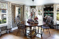 Ethnic dining room