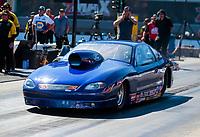 Oct 14, 2019; Concord, NC, USA; NHRA comp eliminator driver XXXX during the Carolina Nationals at zMax Dragway. Mandatory Credit: Mark J. Rebilas-USA TODAY Sports