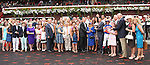 August 16, 2014: Stopchargingmaria with John Velazquez win the 134th running of the Grade I  Alabama Stakes for 3-year old fillies, going 1 1/4 mile at Saratoga Racetrack. Trainer: Todd Pletcher . Owner: Repole Stables . Sue Kawczynski/ESW/CSM