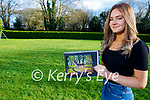 Rebecca Daly from Ballymac who won the Kerry Diocese art competition for her deer photo