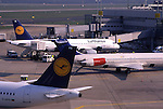 Europe, DEU, Germany, Northrhine Westphalia, Rhineland, Lower Rhine, Dusseldorf, Airport Dusseldorf International, Airplanes, Aeroplanes....[ For each utilisation of my images my General Terms and Conditions are mandatory. Usage only against use message and proof. Download of my General Terms and Conditions under http://www.image-box.com or ask for sending. A clearance before usage is necessary...Material is subject to royalties. Each utilisation of my images is subject to a fee in accordance to the present valid MFM-List...Contact | archive@image-box.com | www.image-box.com ]
