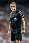 Referee David Fernandez Borbalan looks on during their La Liga 2017-18 match between Real Madrid and Valencia CF at the Estadio Santiago Bernabeu on 27 August 2017 in Madrid, Spain. Photo by Diego Gonzalez / Power Sport Images