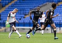 Bolton Wanderers' Eoin Doyle plays a through ball<br /> <br /> Photographer Andrew Kearns/CameraSport<br /> <br /> The EFL Sky Bet League Two - Bolton Wanderers v Oldham Athletic - Saturday 17th October 2020 - University of Bolton Stadium - Bolton<br /> <br /> World Copyright © 2020 CameraSport. All rights reserved. 43 Linden Ave. Countesthorpe. Leicester. England. LE8 5PG - Tel: +44 (0) 116 277 4147 - admin@camerasport.com - www.camerasport.com