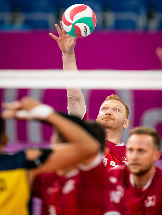 Darek Symonowics, Lima 2019 - Sitting Volleyball // Volleyball assis.<br />