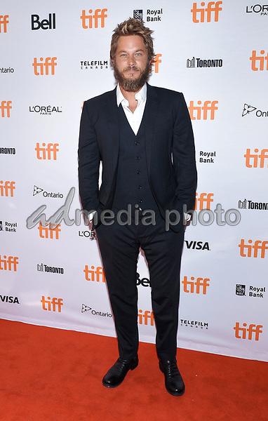 "11 September 2017 - Toronto, Ontario Canada - Travis Fimmel. 2017 Toronto International Film Festival - ""Lean On Pete"" Premiere held at The Elgin. Photo Credit: Brent Perniac/AdMedia"