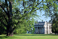 Vanderbilt Mansion and grounds, Vanderbilt Mansion National Historic Site, Hyde Park, Dutchess County, New York, USA
