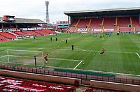 20th March 2021, Oakwell Stadium, Barnsley, Yorkshire, England; English Football League Championship Football, Barnsley FC versus Sheffield Wednesday; General view of Oakwell ahead of kick off
