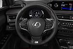 Car pictures of steering wheel view of a 2019 Lexus UX 250h-F-SPORT 5 Door SUV
