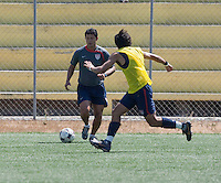 Head Coach: Wilmer Cabrera and Carlos Martinez training before the 2009 CONCACAF Under-17 Championship From April 21-May 2 in Tijuana, Mexico