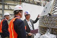 """""""Building the Starliner"""" by Art Harman. Boeing is building the CST-100 Starliner spacecraft, for launch in 2019 or 2020."""