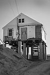 Summer beachfront cottage construction and restoration.