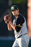 South Bend Silver Hawks pitcher Austin Platt (23) delivers a pitch during a game against the Lansing Lugnuts on June 6, 2014 at Cooley Law School Stadium in Lansing, Michigan.  South Bend defeated Lansing 13-5.  (Mike Janes/Four Seam Images)