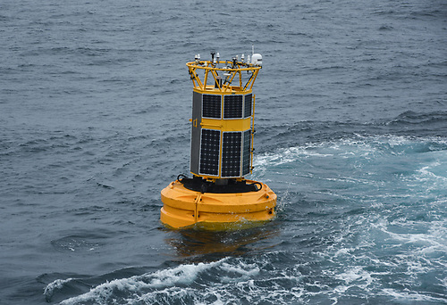 he mooring at M6 (pictured above) stretching down from the ocean surface to an anchor in the deep Rockall Trough, is over 3,500m