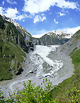 New Zealand, South Island, Fox Glacier | Neuseeland, Suedinsel, Fox Glacier