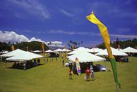Haleiwa Art Festival at Haleiwa Beach Park, North Shore of Oahu