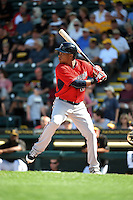 Minnesota Twins infielder Jorge Polanco (11) during a Spring Training game against the Pittsburgh Pirates on March 13, 2015 at McKechnie Field in Bradenton, Florida.  Minnesota defeated Pittsburgh 8-3.  (Mike Janes/Four Seam Images)