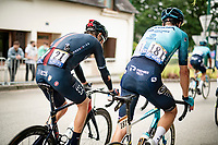 crash victim Geraint Thomas (GBR/Ineos Grenadiers) after the finish line<br /> <br /> Stage 3 from Lorient to Pontivy (183km)<br /> 108th Tour de France 2021 (2.UWT)<br /> <br /> ©kramon