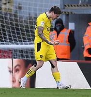 13th March 2021; Vitality Stadium, Bournemouth, Dorset, England; English Football League Championship Football, Bournemouth Athletic versus Barnsley; Dominik Frieser of Barnsley celebrates scoring in 60th minute 2-2