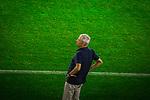 14.09.2020, Schauinsland-Reisen-Arena, Duisburg, GER, DFB Pokal 1. Runde, MSV Duisburg vs Borussia Dortmund,  im Bild Lucien Favre (Trainer BVB),<br /> <br /> <br /> Foto © nordphoto / Rauch<br /> <br /> Gemäß den Vorgaben der DFL Deutsche Fußball Liga bzw. des DFB Deutscher Fußball-Bund ist es untersagt, in dem Stadion und/oder vom Spiel angefertigte Fotoaufnahmen in Form von Sequenzbildern und/oder videoähnlichen Fotostrecken zu verwerten bzw. verwerten zu lassen.