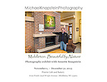 Photographs by Michael and Annette Knapstein are being exhibited at the Prairie Cafe in Middleton, Wisconsin from November 1 through December 31, 2015.