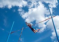 4th July 2021; Stockholm Olympic Stadium, Stockholm, Sweden; Diamond League Grand Prix Athletics, Bauhaus Gala; Holly Bradshaw competes in the womens Pole Vault