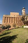 Judea, Hebron Mountain.The Cave of Machpelah in Hebron