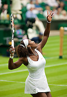 22-6-09, Enland, London, Wimbledon, Serena Willams