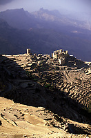 Yemen,Wadi Moor, landscape